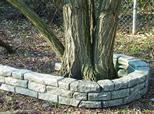 Plastic Borders - Plastic Landscape Timber - Stone