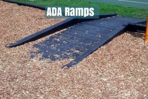 this is an image of an ada ramp