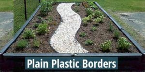 plastic borders for playgrounds and sandboxes